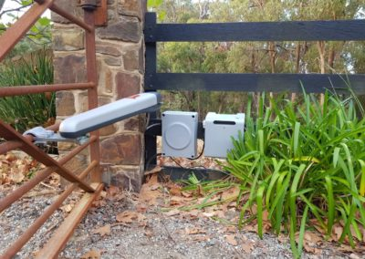 Automatic Gate with battery backup